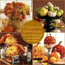 19 Festive Fall Centerpieces that are easy to DIY and look lovely.