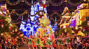 Christmas Parade At Disneyland Hd ...
