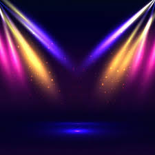 colorful stage lights background free vector r97 lights