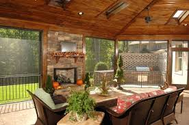 screened covered patio ideas. Brilliant Covered Small Outdoor Covered Patio Ideas This Screened In Has An Enormous Arched  Wooden Ceiling With Ample Skylights A Screen Luxurious Pictures