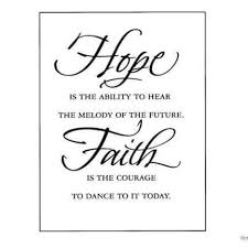 Hope And Faith Quotes Stunning Hope And Faith Cool Quote Pinterest Wise Words Encouragement