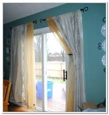 sliding door curtain ideas slider window treatments patio treatment pictures french