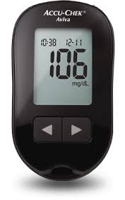 Accu Chek Aviva Blood Glucose Meter
