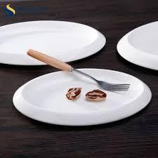 Modern Design Plates Modern Design China Dinnerware Set Restaurant Oval Plates