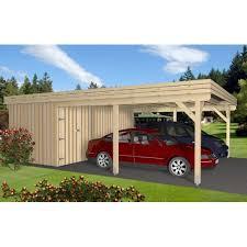 carport mit abstellraum doppelcarport nwh frankfurt 12007 wooden carports with storage l25 wooden
