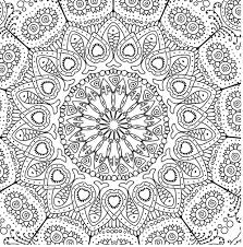 Small Picture Giant Mandala Coloring Book Coloring Pages