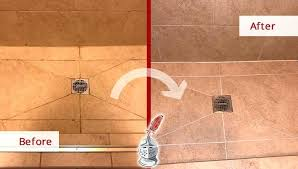 stone shower cleaner natural how