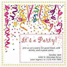 invitation for a party 60 free diy printable invitation templates in word