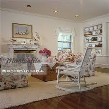 english country living room furniture. LIVING ROOMS - English Country Living Room With Florals And Fireplace, Marble Brass Swag Valence, Built In Shelves Collections Of Furniture I