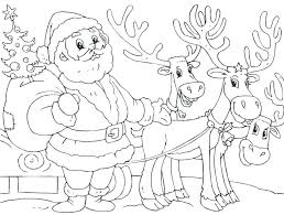 Reindeer Coloring Pages Coloring Pages And Reindeer And Reindeer