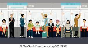 people inside subway train.  Subway Inside The Subway Train  Csp50109866 For People Subway Train K