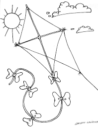 Small Picture 29 best Kite Coloring Pages images on Pinterest Kites Coloring