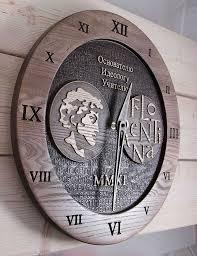 Деревянные <b>часы</b>, фрезеровка, лазерная гравировка (с ...