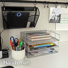 Office desk organization ideas Messy Home Office Desk Organization Ideas You Can Diy The Family Handyman Home Office Desk Organization Ideas You Can Diy The Family Handyman