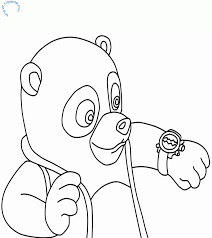 Small Picture Agent Oso Coloring Pages Coloring Home