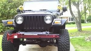 2004 Jeep Wrangler Unlimited 4.0L I6 Lifted - YouTube