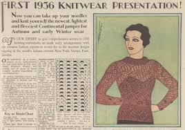 Vintage Knitting Patterns New The Vintage Pattern Files