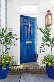 door. Charleston Blue Front Door T