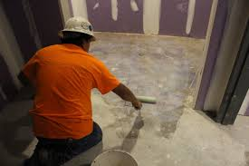 in addition to testing for moisture the surface of your concrete must be ph tested for alkaline salts which can be brought to the surface of the slab by