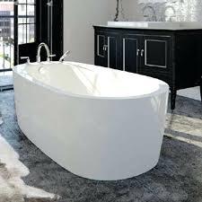 freestanding bathtub modern bath with integral skirt kohler cast iron