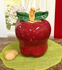 apple kitchen decor. red apple kitchen decor cookie jar canister
