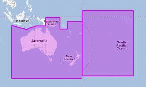 Mapmedia Jeppesen Vector Megawide Australia New Zealand Oceania