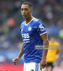 Leicester City's Youri Tielemans during the Premier League match... Foto di  attualità - Getty Images