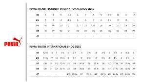 Puma Golf Size Chart Puma Shoes Size Chart Emrodshoes