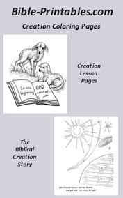 Small Picture The Biblical Creation Story Genesis Bible Printables