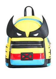 loungefly wolverine x men faux leather mini backpack update