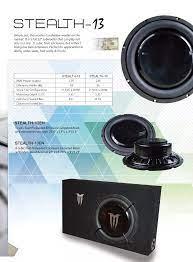 Stealth-13 Tipis Mobil Subwoofer Box - Buy Mobil Speaker Kotak Tipis,Tipis Box  Subwoofer Mobil,Musik Speaker Mobil Product on Alibaba.com