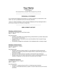 Resume Personal Statement Awesome Personal Profile Examples For