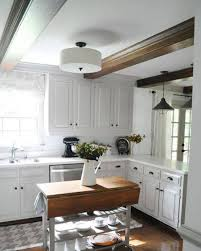 Semi Flush Mount Overhead Kitchen Lighting With Pendant Lights - Semi flush kitchen lighting