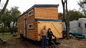 my tiny house. Kevin Kitsmiller, The Builder, And Myself In Front Of My Tiny House, Angel\u0027s Haven. House