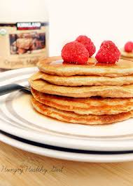 In several cases the calories and fiber are given for the cooked form of the food. Clean And Simple Oat Pancakes Kim S Cravings