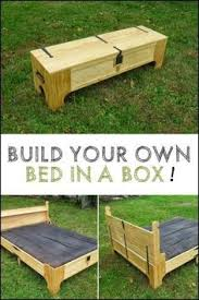bed in a box. Modren Bed This Clever Box Transforms Into A Spare Bed Now The Challenge Is For You  To Try Do It Yourself Inside Bed In A Box B