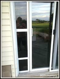 patio door with pet door built in patio door with pet door built in wen sliding patio door with pet