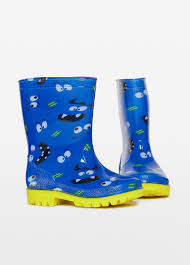 Patterned Rain Boots Simple Decorating