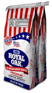 Lighting Royal Oak Charcoal Royal Oak All Natural Hardwood Premium Charcoal Briquets 18 Lb 2 Pack Value Size Walmart Com