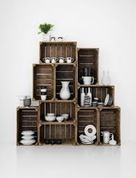 Best 25+ Wood crate shelves ideas on Pinterest | Wood crate furniture, Crate  furniture and Crates