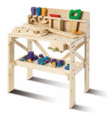 f a o schwarz 64 piece toy wooden workbench