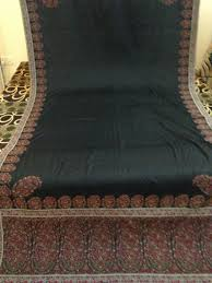 indian antique french cushions. A Antique French Paisley Collection Long Shawl 1850th Century In Black Color Which Is Very Rare Indian Cushions L