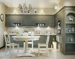 grey traditional kitchen design