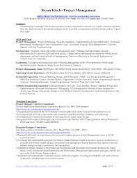 it project manager resume doc best resume sample project manager resume example resume financial management resume o6dim97o