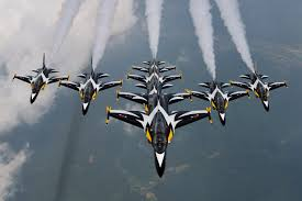 Asian air acrobatic team black eagles