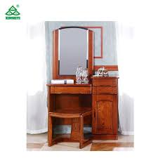 antique style wood furniture for bedroom dresser with mirror
