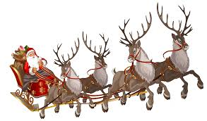 Image result for 1940 santa claus and reindeer pictures