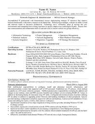 Network Administrator Resume Sample Career Development Pinterest