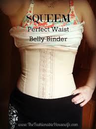 Squeem Perfect Waist Belly Binder For Postpartum Bellies