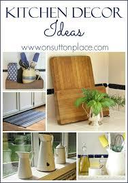 kitchen decor ideas easy